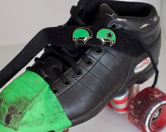 Seconds Sale Roller Derby Enamel Pin Helmet Panties Pivot Jammer Hard Enamel