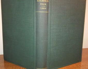 1900 Charles Lamb Essays of Elia Antique Book