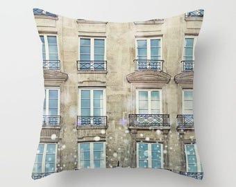 Paris Decorative Pillow with Insert // Paris Bedroom Decor  // Paris Decor // Throw Pillows // Hostess Gift // Paris Decor Throw Pillow