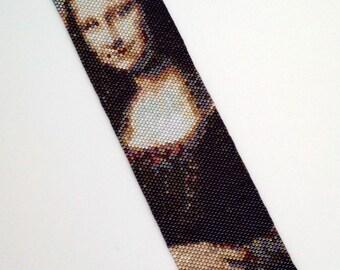 Mona Lisa Bracelet Pattern - Peyote Pattern