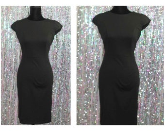 90's Atmosphere Classic Black Dress (8)
