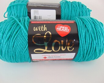 Jadeite - Red Heart With Love worsted weight yarn 2045