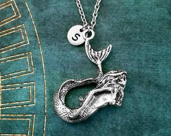 Mermaid Necklace Mermaid Jewelry Personalized Jewelry Mermaid Gift Sea Siren Necklace Mermaid Pendant Fantasy Jewelry Ocean Beach Jewelry