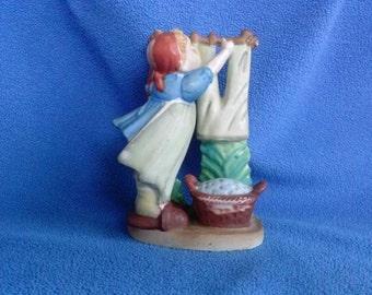 Wash Day, Lipper and Mann,  Hummel Like Japan Figurine