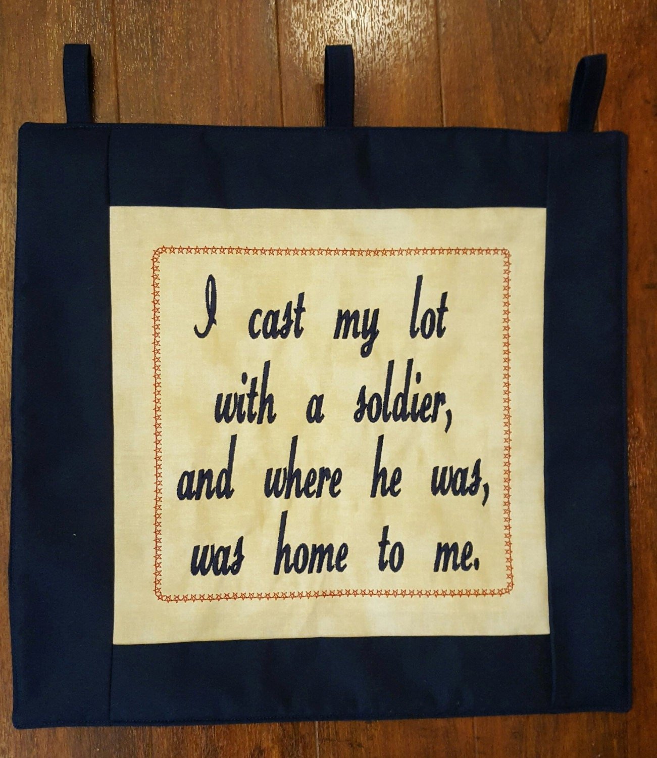 Military Wife Gift Army Wife Gift Army Wife Pin Quilt