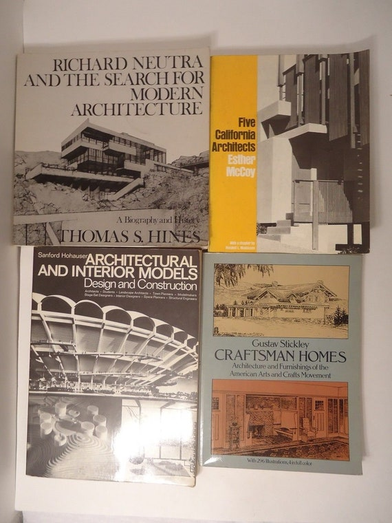 4 great architecture books stickley craftsman homes hines