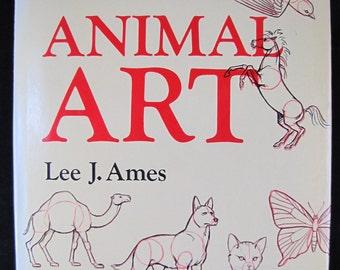 Animal Art // aka Draw 50 Animals // 1986 Hardback // ISBN 0385242271 // Children learn to draw