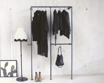 Clothes Rack industrial style - XAVIER