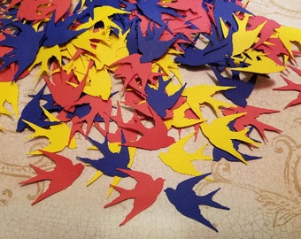 Die Cut Sparrows.     #D-39