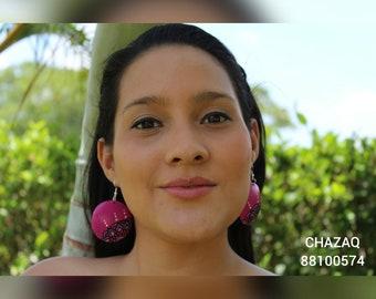 Zarcillo, earrings, Mandala, earrings