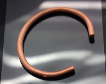 Heavy Copper Bangle Bracelet 4 gauge thick copper cuff sturdy copper bangle men's copper bracelet women's copper bangle arthritis copper