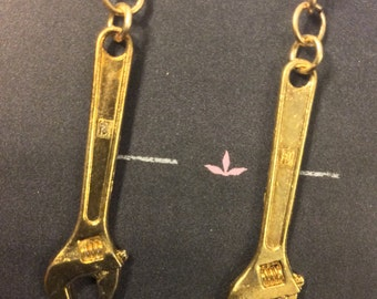 Mini Tool Wrench Earrings