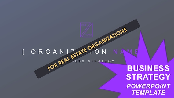 Business Strategy Template - Real Estate