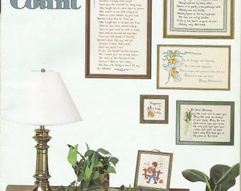 "Designs by Gloria & Pat ""Occasions That Count"" Cross Stitch leaflet"