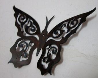 Spring Butterflies-Metal Art-3D-Home Decor-Wall Art