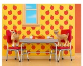 30% OFF SALE Retro kitchen animal art print with fawns: Fawning