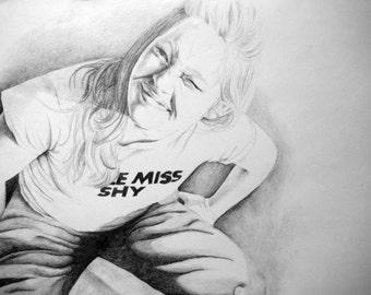 Portrait Drawing - Pencil