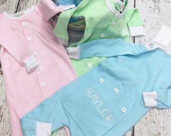 Easter PJs, Toddler pajamas, Spring pjs, Drop seat pjs, Trap door pjs, 1 piece pjs, Drop seat pjs, pastel pjs