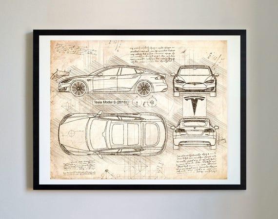 Tesla model s 2016 tesla artwork blueprint specs blueprint tesla model s 2016 tesla artwork blueprint specs blueprint patent prints posters tesla decor art car art cars 226 malvernweather Images