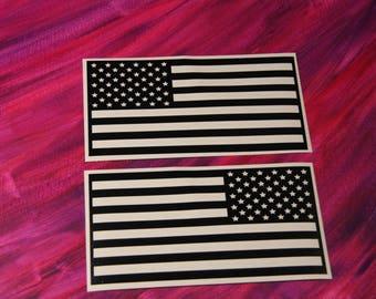 American Flags Vinyl Decals