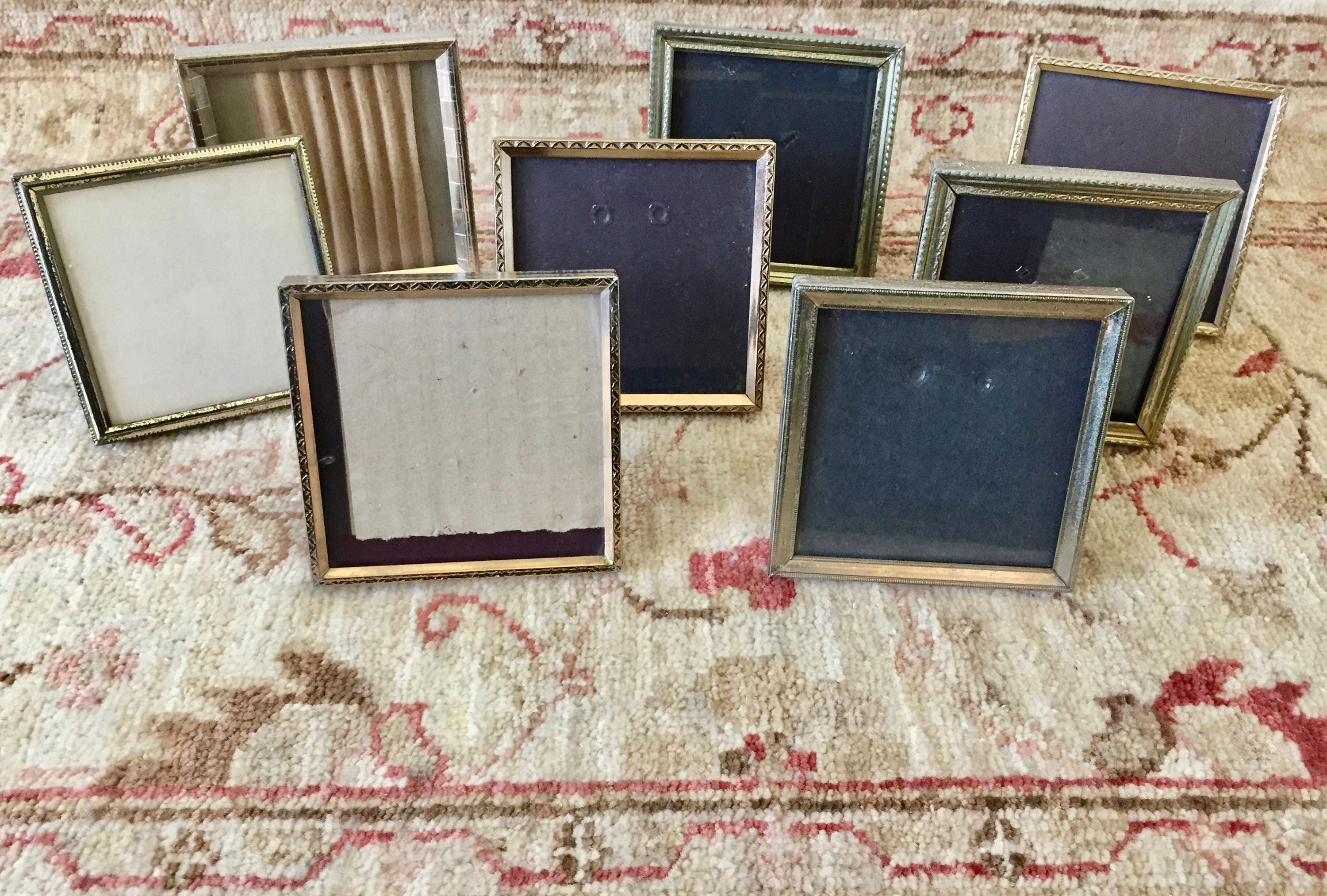 Gold Frame Brass Picture Frames Small Frames Table Number Holders ...