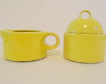Vintage 1970's  Sugar Bowl and Creamer Noritake- Radiant-  1972-77