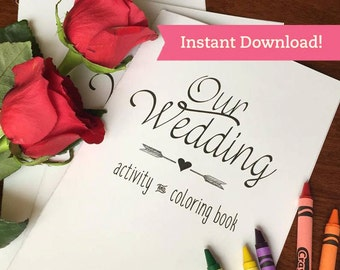 LGBTQ Wedding Coloring Book Printable Download
