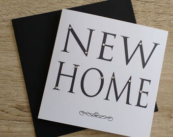 New Home Bling Card