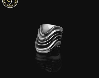 Limited Edition Ear Cuff, Sterling Silver