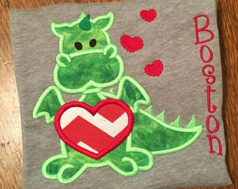 Valentine Dragon Shirt