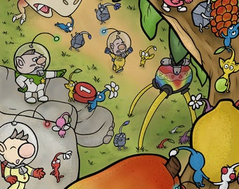 Pikmin 11x17 Poster
