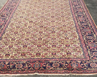 Turkish rug, handwoven, vibrant colours, large size