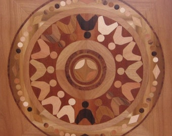 Wooden Mandala-the game of children