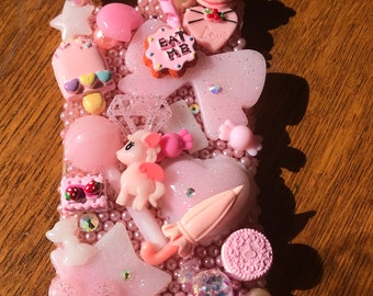 Sweet Pink Pearl Decoden IPhone 7 Case