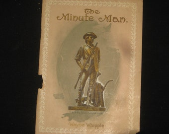 The Minute Man - advertising booklet from the MINUTE Family  dated 1902  [c5068o]