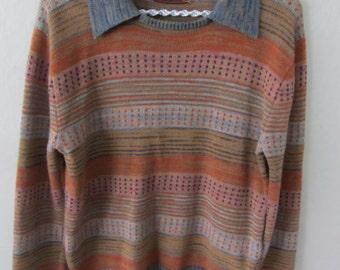 Vintage sunset sweater