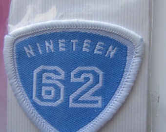 Pattern self adhesive easy to apply with an iron - on badge