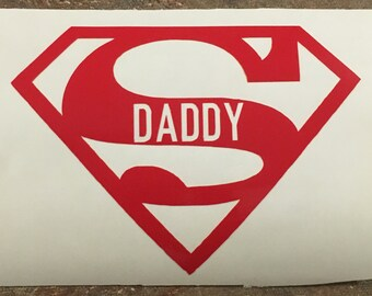 Super Dad decal