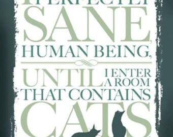 Cat Crazy card