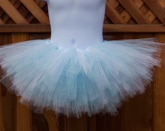 White and Light Blue Tutu - Other Colors Available