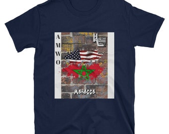 AMWO T-shirt - USA/Morocco