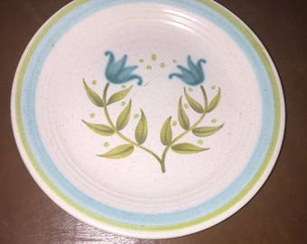FRANCISCAN Earthenware China Tulip Time Bread & Butter Plate