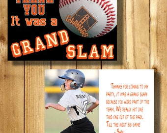 San Francisco Giants 4x6 Thank You Note Cards