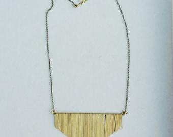 Small Jules Fringe Necklace