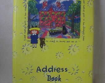 Vintage Madeline Address Book