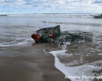 Lobster Trap in Maine (Ogunquit, ME)