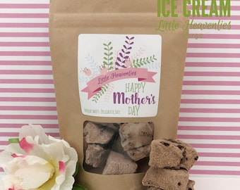 Unique Gift / Chocolate Gifts / Mother Day / Large Chocolate Ice Cream / For Wife / Mom In Law / Belgian Chocolate / Funny Mothers Day Gift