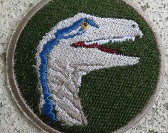 Blue Velociraptor Patch (Jurassic World)