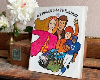 NFL Football Guide Book Family Viewing Tailgating Sports