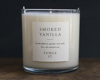 Smoked Vanilla Soy Wax Candle